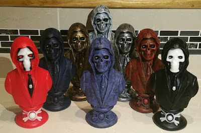 Masters of the Universe Skeletor for President Resin Mini Bust by ETC Toys x Ultimate Skull and Cobra