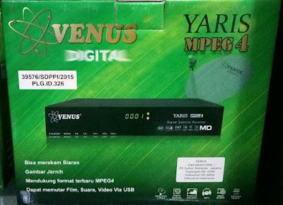 Kelebihan Receiver Venus Yaris MPEG4