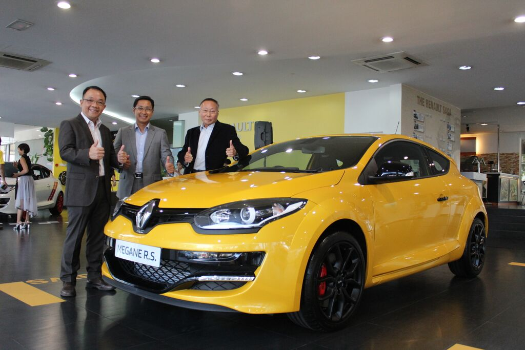 Motoring Malaysia Upgraded And Facelifted Renault Megane Rs 265 Cup
