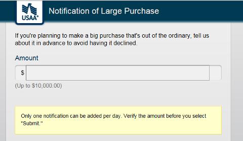 Notification d'achat important