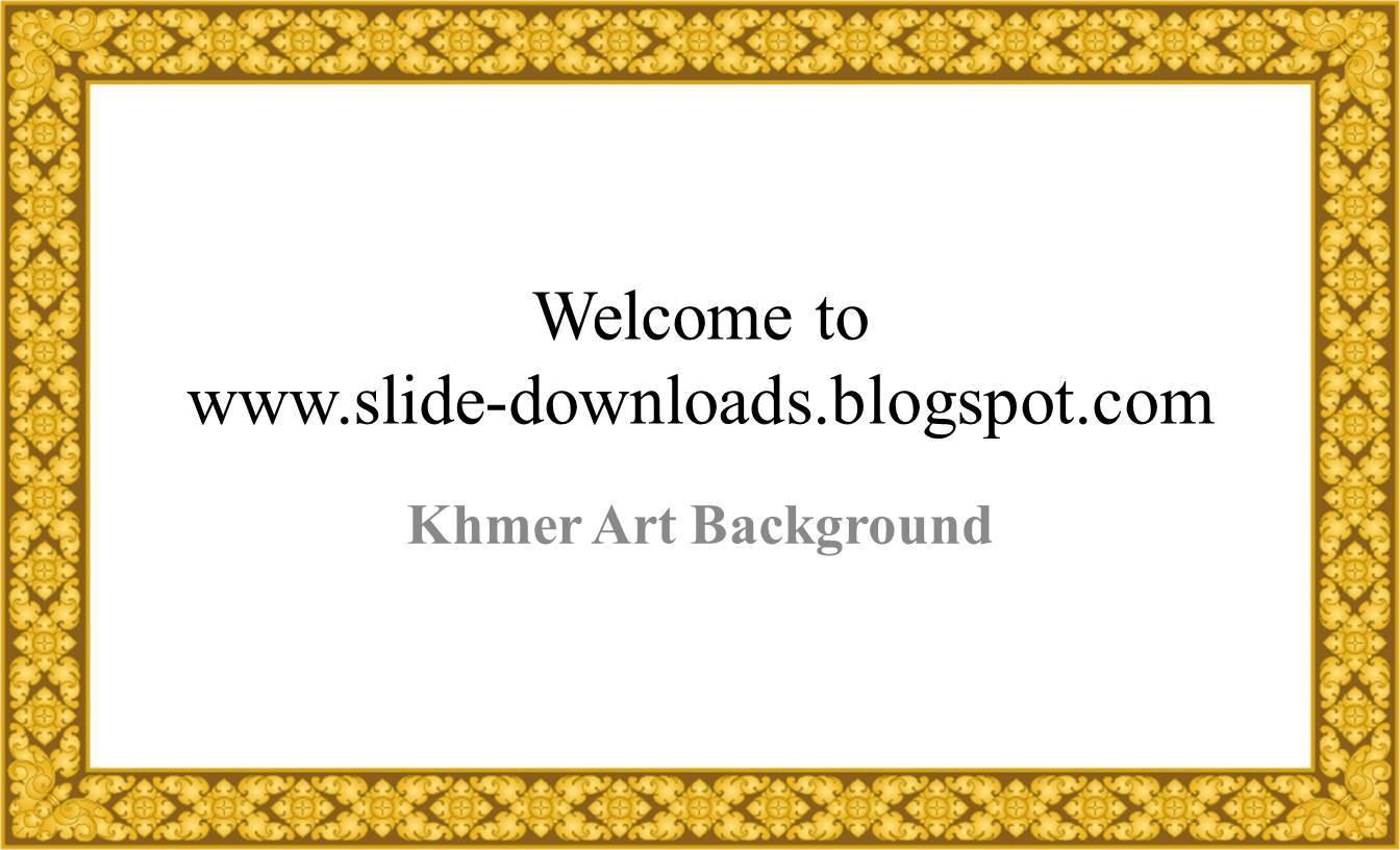 slide background khmer art background