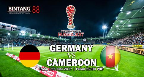 Prediksi Skor Germany vs Cameroon 25 Juni 2017