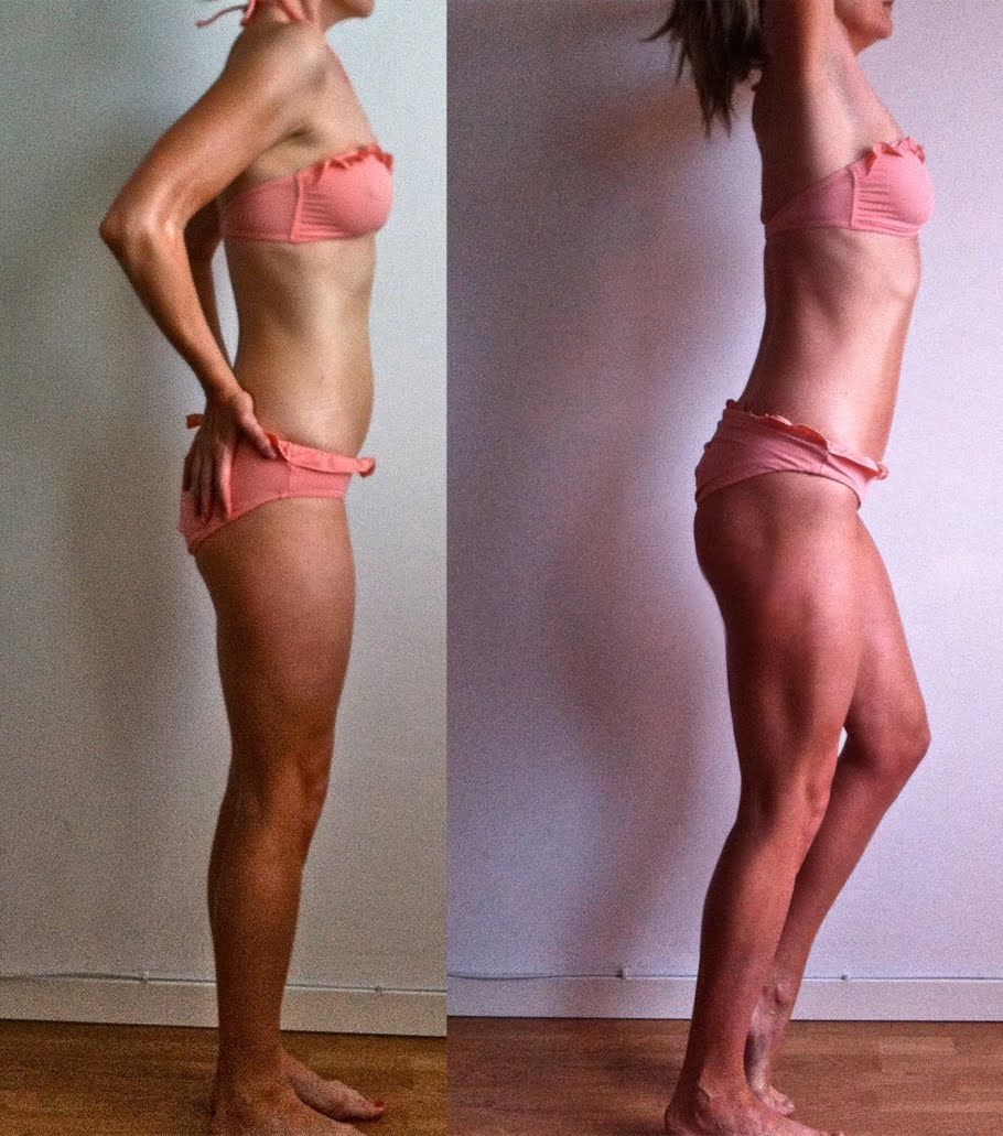 snygg kropp på 1 månad