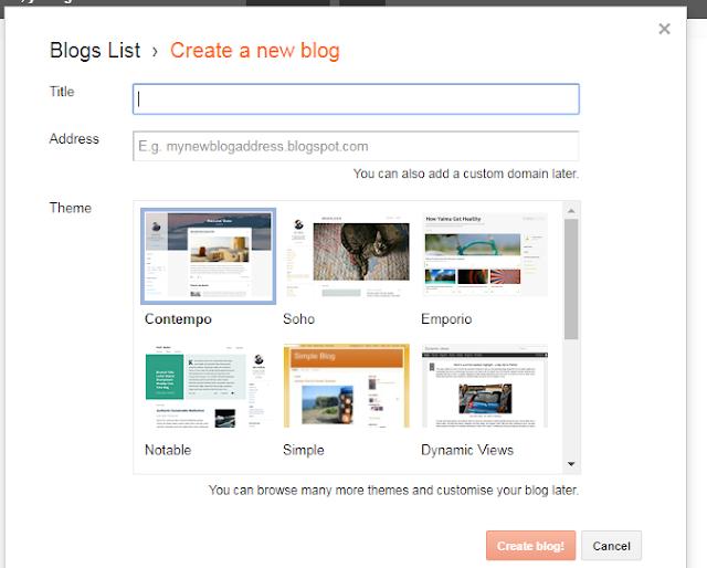 Full tutorial membangun blog mulai awal