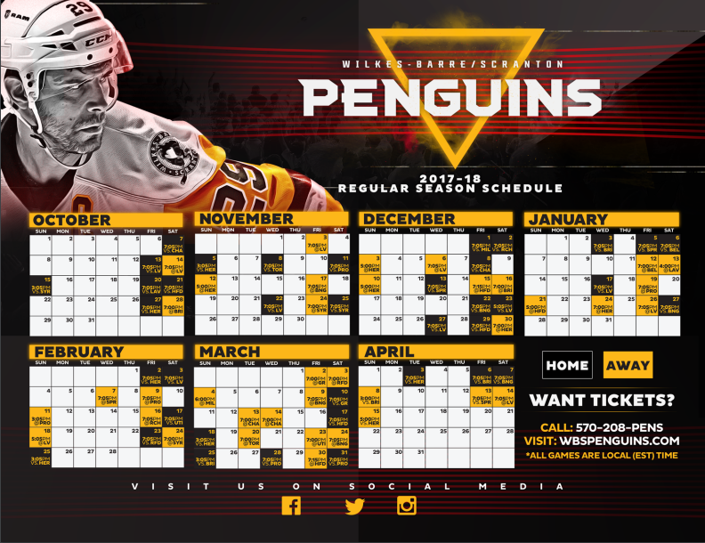 photograph about Pittsburgh Penguins Printable Schedule referred to as Wanting In advance: WBS Pens Activity of the Thirty day period - PensInitiative