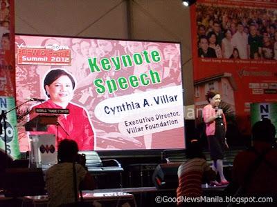 Cynthia Villar of Villar Foundation