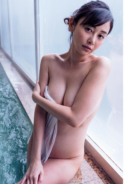 Anri Sugihara 杉原杏璃 Weekly Playboy No 14 2017 Pics