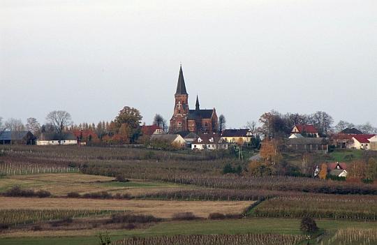 Kościół pod wezwaniem Ścięcia św. Jana Chrzciciela w Górze Świętego Jana.