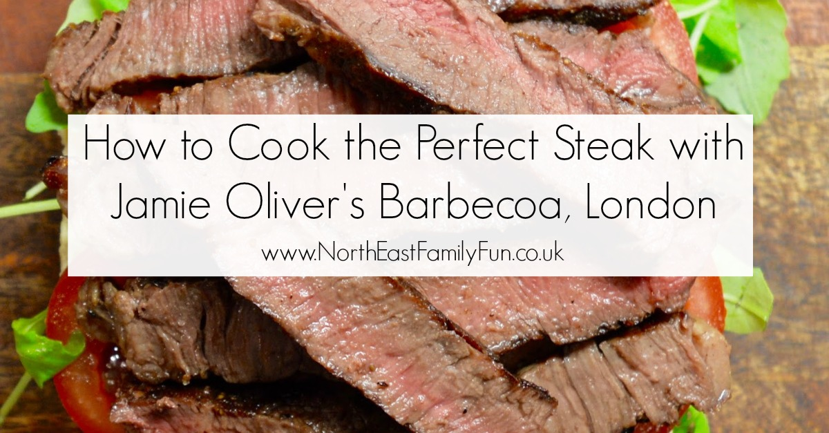 Top Tips and How to Cook the Perfect Steak with Jamie Oliver's Barbecoa Restaurant, London.