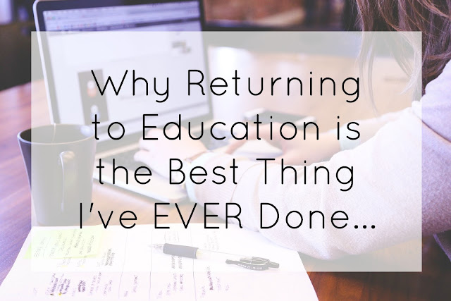 Returning to education and life as a mature student