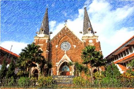 Melodi Kasih Tuhan Gereja Katolik Kelahiran Santa Perawan Maria Kelsapa Surabaya