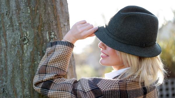 veste et chapeau rétro