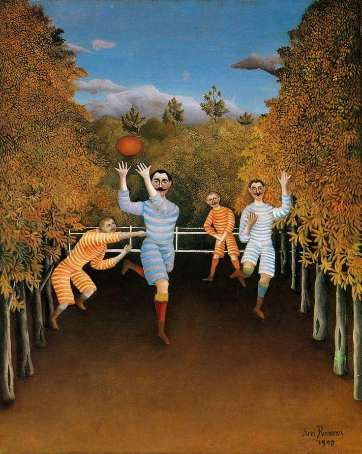 Henri Rousseau e seus sonhos pintado em tela