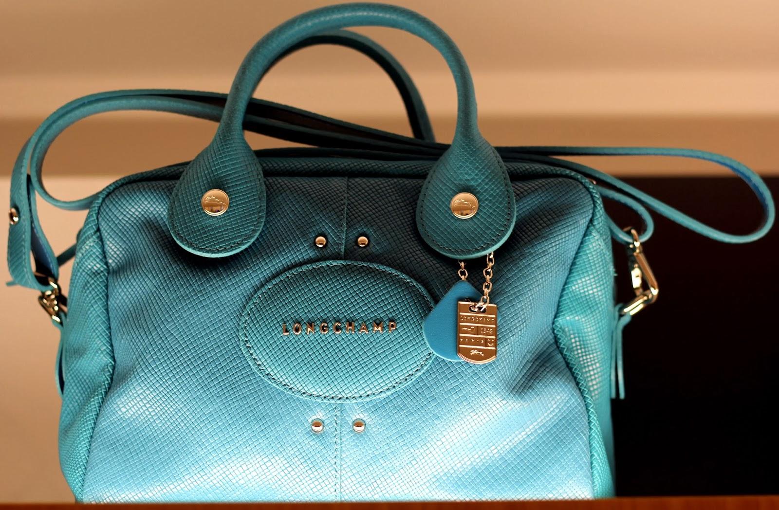 Longchamp Press Day Francesca Litrico Quadry Bag Quadri