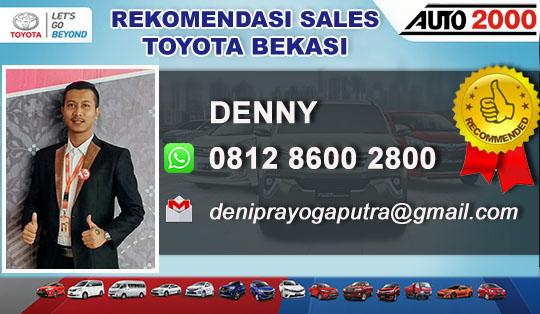 Rekomendasi Sales Toyota Komsen Bekasi