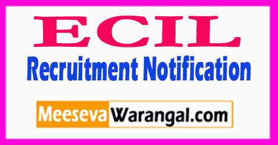 ECIL Electronics Corporation of India Limited Recruitment Notification 2017