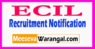ECIL Electronics Corporation of India Limited Recruitment Notification 2017 Last Date 26-07-2017