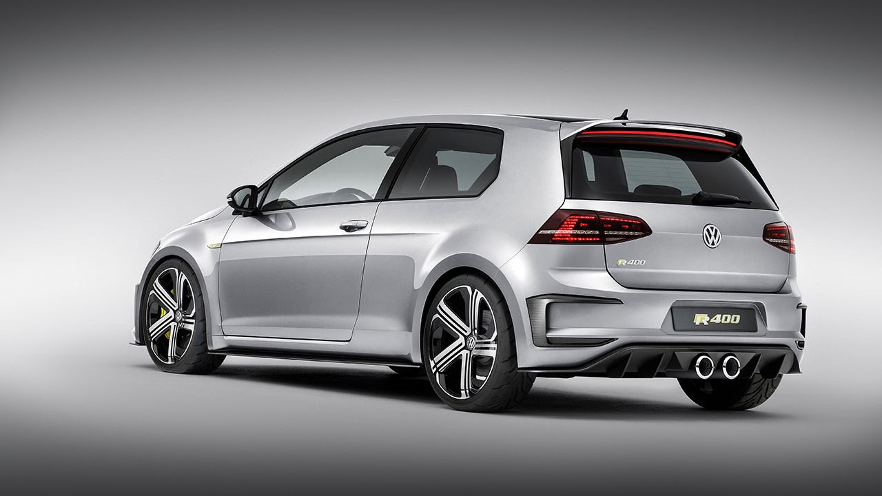 400 PS Four-Wheel-Drive Golf R 400 Concept rear