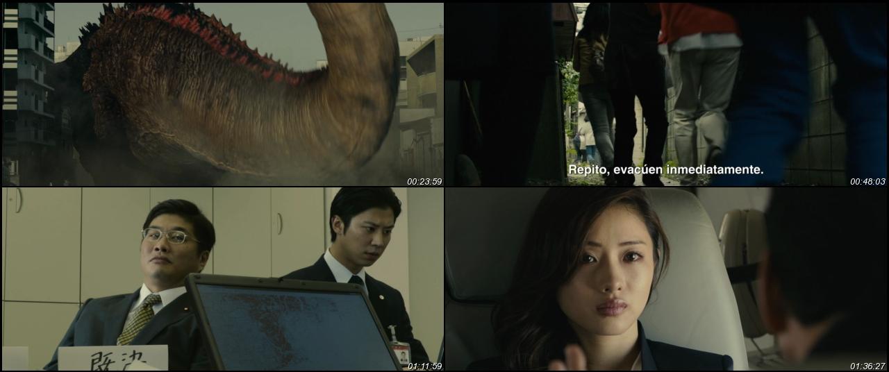 Godzilla Resurge 2016