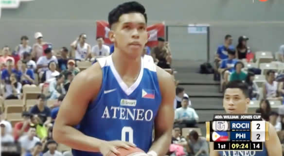 List: Leading scorers Philippines-Ateneo vs Taipei B 2018 Jones Cup
