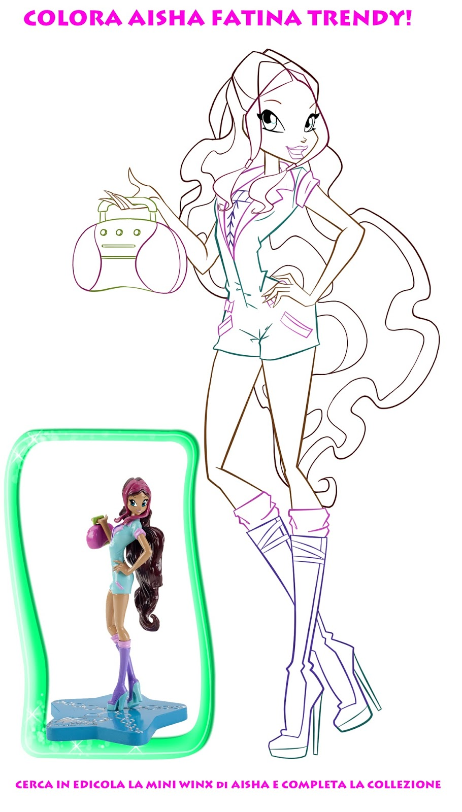 ¡Nuevas imágenes para colorear Winx Club Trendy! - Winx ...
