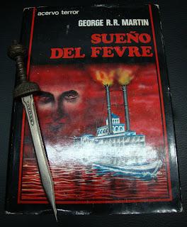 Portada del libro Sueño del Fevre, de George R. R. Martin