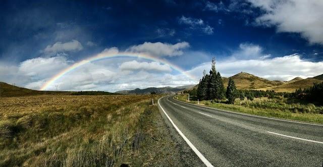 O arco-íres tem sete cores...