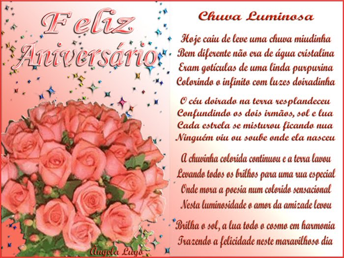 CHUVA LUMINOSA (Feliz Aniversário Vânia Lopez)