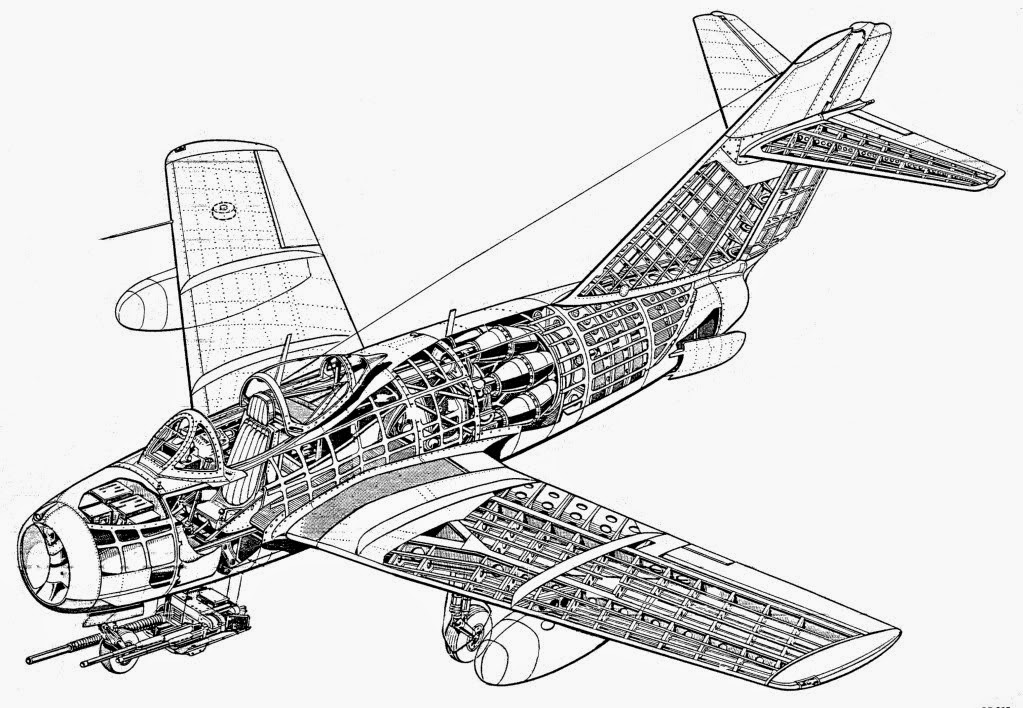 Airplanes In The Skies Faf History Mig 15 Story