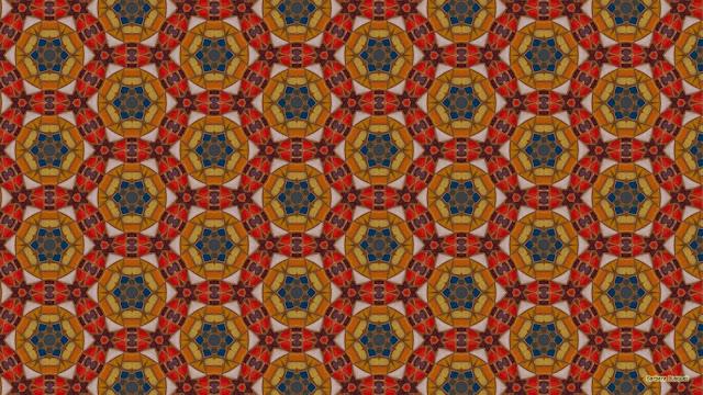 Mozaïek patroon wallpaper