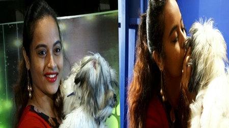 Bigg Boss Suja Varunee's Pet joins her in this Fashion Show! Twisty Tails