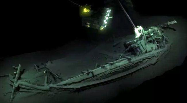 Kapal karam utuh tertua di dunia