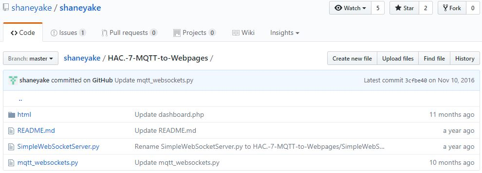 Blog of Wei-Hsiung Huang: Raspberry Pi - Setting up MQTT to send and