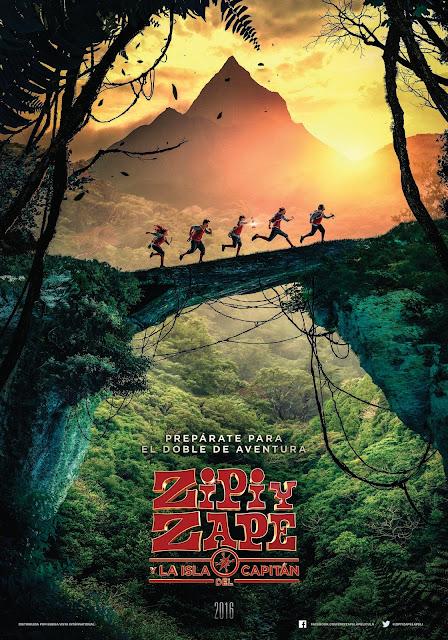 Tráiler y póster de 'Zipi y Zape y la isla del capitán' al más puro estilo de 'Los Goonies'
