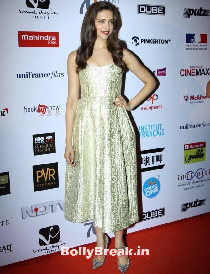 Deepika Padukone, Mumbai Film Festival 2014 Photos