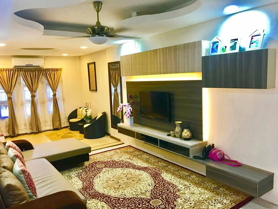 Cantik Bukan Living Room Ni Hehe Pejam Celik Dah Hampir Masuk Setahun Beli Rumah Tiada Orang Duduk Dalam Tu Masih Kosong