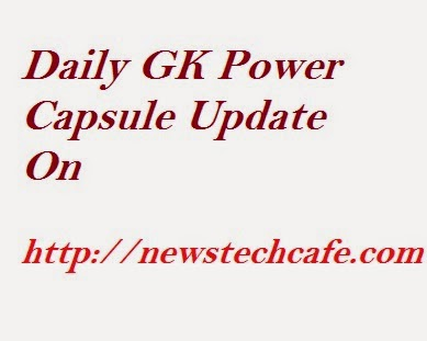 Daily GK Booster Capsule for NIACL  and SBI associate 2015