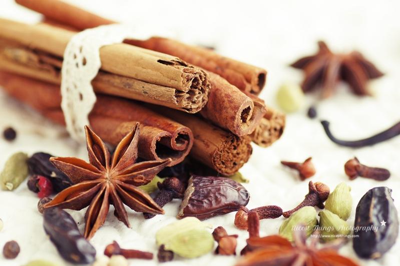 Zimtstangen gebündelt für Chai Sirup Rezept