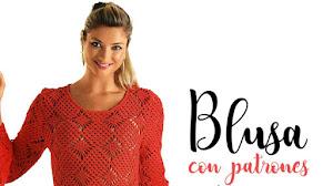 Blusa elegante a crochet / Patrones