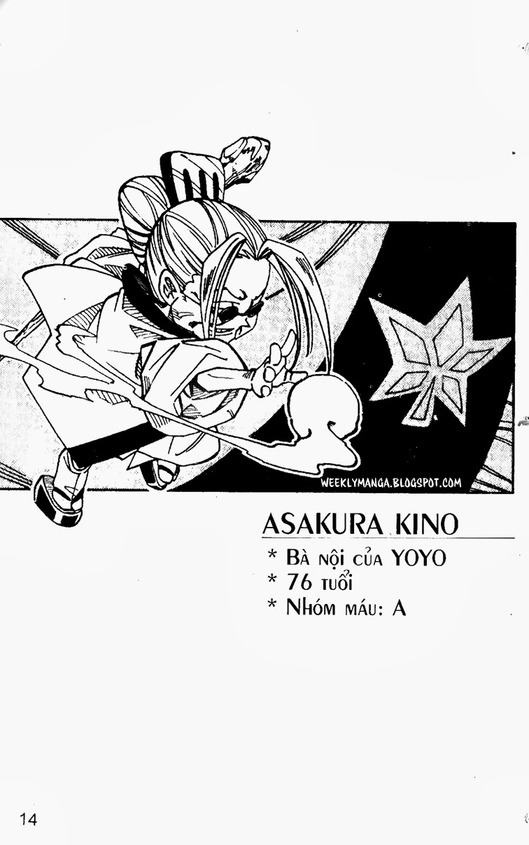 Shaman King [Vua pháp thuật] chap 91 trang 10