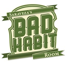 Bad Habit Room Menu