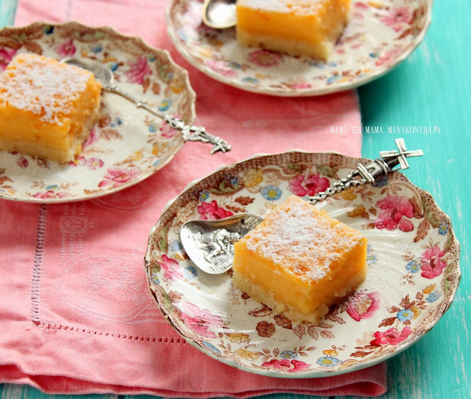 Citrusos sütikockák