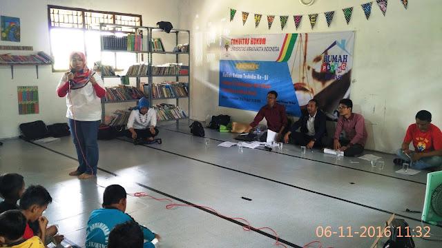 Kuliah Hukum Terbuka dan Baksos FH UWIN di Rumah Pelangi Bekasi