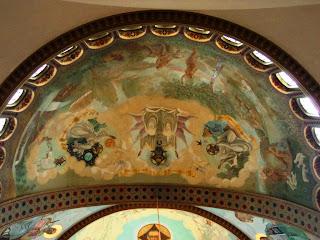 Pinturas no Teto da Catedral Ortodoxa de São Paulo