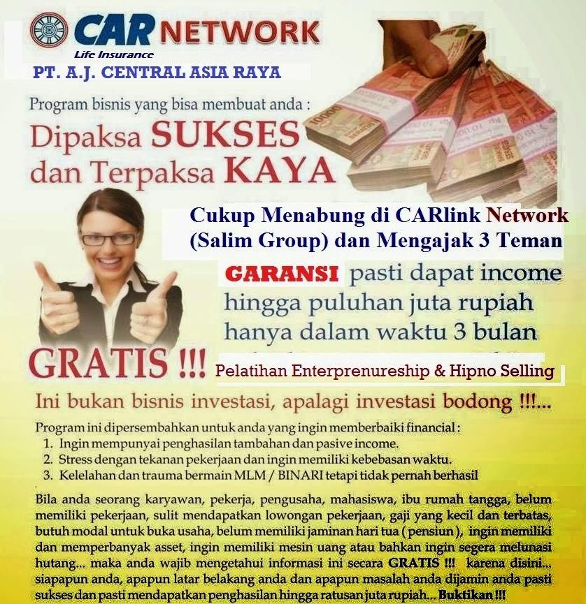 Rejeki Menabung: Tentang CAR 3i Networks