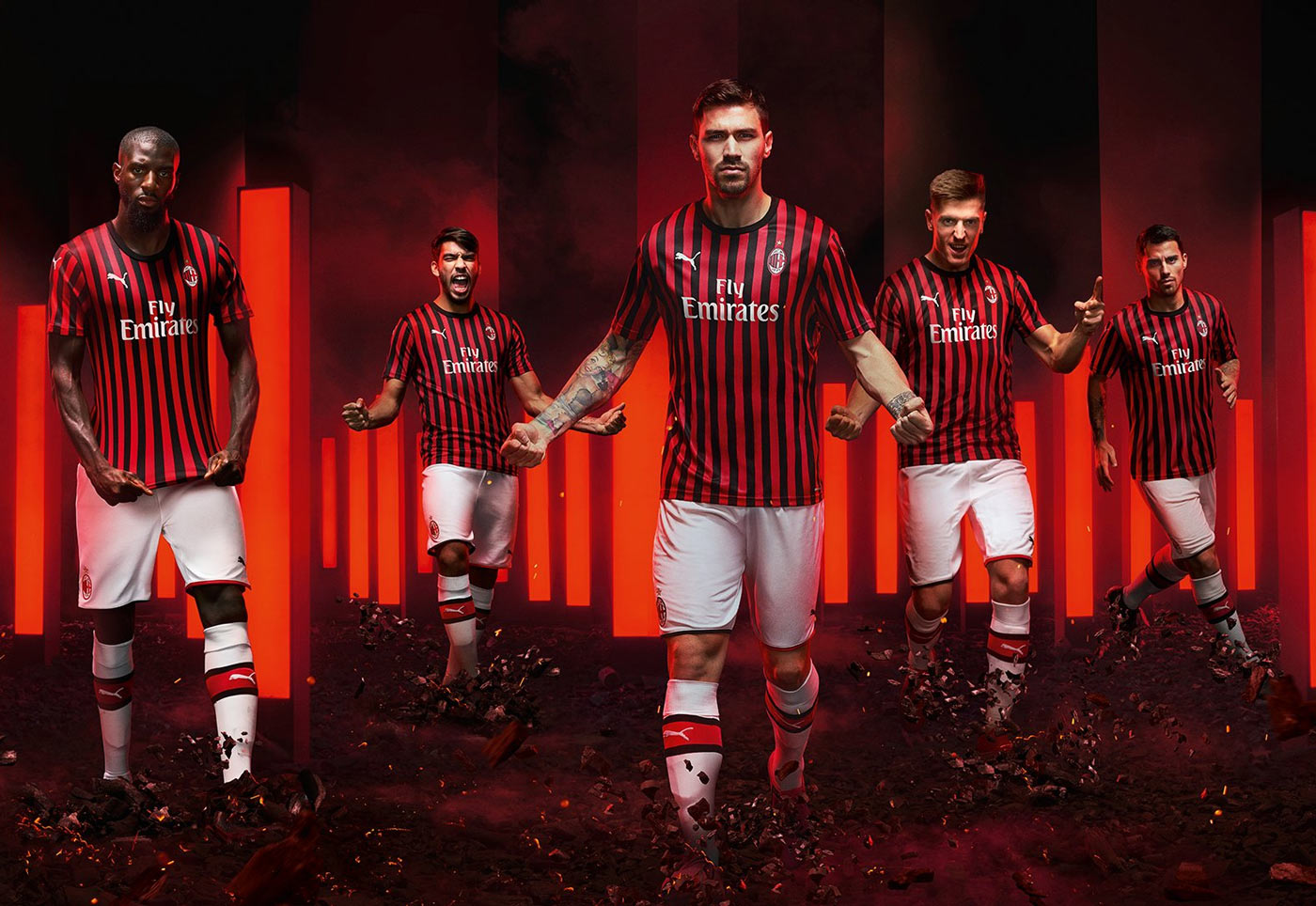 Milan 19-20 Home Kit Revealed - Footy Headlines