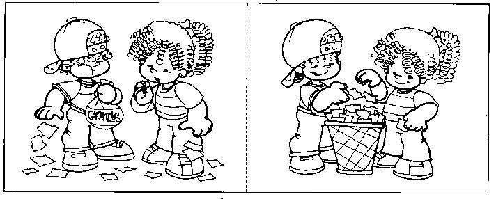 Dibujos Para Colorear De Normas De Convivencia En La Escuela Imagui