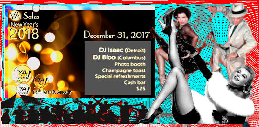 - - YA Salsa - New Years Eve - Sunday Social - - - 2017-12-31 -