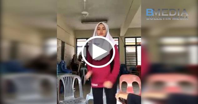 Viral!! Aireen Natasya Buat Tarian Sotong !! 🐙 Apa Nak Jadi Dengan Remaja Skrg ni..