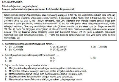 Contoh Soal Sbmptn Bahasa Inggris Kumpulan Soal Pelajaran 10